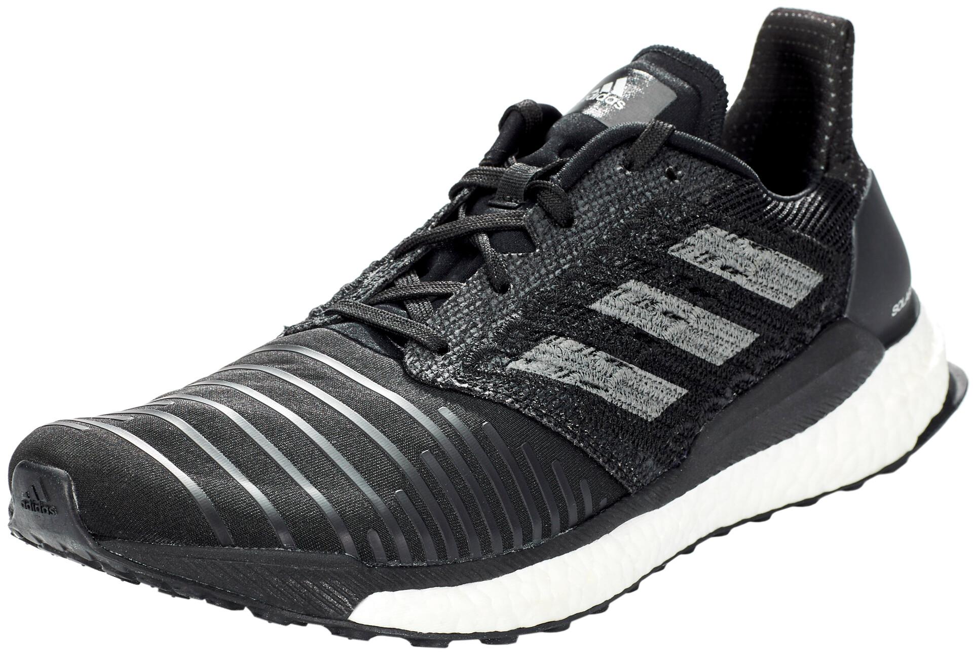 adidas SolarBoost Chaussures de trail Homme, core blackgrey fourwhite
